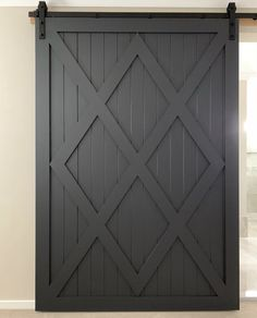 64 Ideas For Barn Door Table Closet Room Doors, Closet Doors, Garage Doors, Bedroom Barn Door, House Doors, Wardrobe Closet, Barn Door Designs, Garage Door Design, Barn Door Tables
