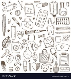 Daily Health Tips: Search results for Krankenpflege Doodle Art, Doodle Icon, Doodle Drawings, Bullet Journal Ideas Pages, Bullet Journal Inspiration, Nurse Drawing, Drawing Art, Medical Wallpaper, Planner Doodles