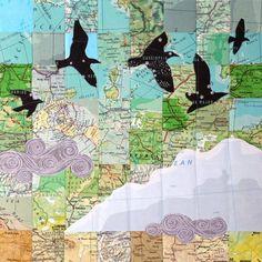 Northern Sky print by StellaViolet on Etsy