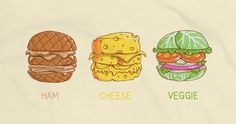 BURGERS  The best kind of burgers in the world are now available for your personal display and enjoyment.  Hamburger, Cheeseburger and Veggieburger a delicious Soloyo and Temyongsky collaboration