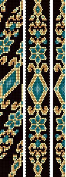 Bead Crochet Patterns, Bead Crochet Rope, Peyote Patterns, Beading Patterns, Beading Techniques, Beading Tutorials, Beading Ideas, Tapestry Crochet, Loom Weaving