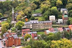 Harpers Ferry, WV - a delightful historic town with great artsy fartsy shopping. Lots of great handmade items. We loved going there.