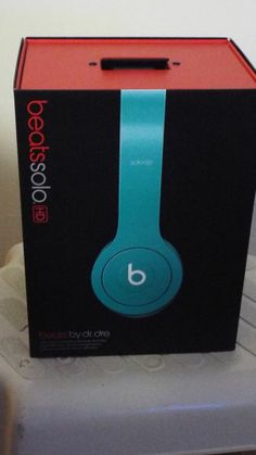Beats by Dr. Dre Solo HD Drenched Headband Headphones - Teal