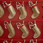 Kids' Christmas craft: Stocking Advent calendar