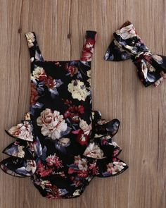 Magdalena Floral Ruffle Romper - Baby Club – online baby clothes stores where you can find fashionable baby clothes. There is a kid and baby style here. Source by babyshopclothing - Storing Baby Clothes, Cute Baby Clothes, Baby Girl Clothes Summer, Cute Baby Stuff, 18 Month Girl Clothes, Winter Baby Clothes, Vintage Baby Clothes, Baby Clothes Online, Baby Online
