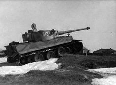 Panzer VI Tiger 812 Tiki 8 schwere Kompanie Division Das Reich