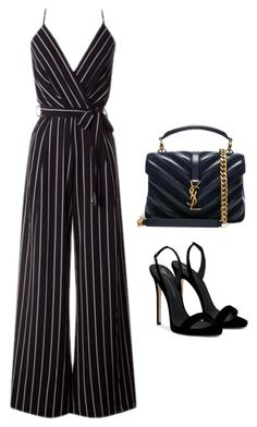 """#168"" by luluuuuuuuuuu ❤ liked on Polyvore featuring Giuseppe Zanotti and Yves Saint Laurent"