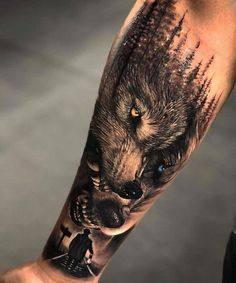 Sleeve tattoos for men who cover wrists - # sleeve tattoos . # tattoos # all - Wölfe tattoo - Tattoo Hand Tattoos, Forarm Tattoos, Best Sleeve Tattoos, Tattoo Sleeve Designs, Tattoo Designs Men, Tattoo Design For Men, Sleeve Tattoos For Men, Circle Tattoos, Wolf Tattoo Forearm