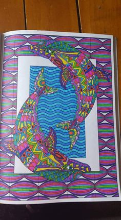 Creation Coloring Pages, Coloring Book Pages, Mandala Painting, Ocean Art, Neon Colors, Black Art, Color Splash, Color Inspiration, Animals And Pets