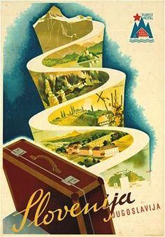 slo1 Visit Yugoslavia turistički poster iz 1935.