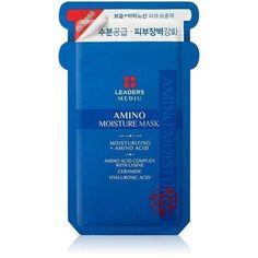 Leaders Mediu - Amino Moisture Mask - 1 box - 10pcs