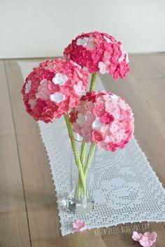 Crochet Hydrangea Flower with Free Pattern                              …