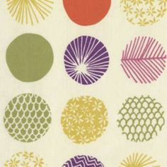 Piper: Patterned Dots Cream. Still LOVE this collection!