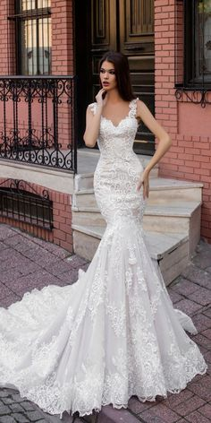 Highlight Collection: Pollardi Fashion Group Wedding Dresses ❤️ mermaid sweetheart neck hand beaded straps pollardi fashion group wedding dresses devlet ❤️ See more: http://www.weddingforward.com/pollardi-fashion-group-wedding-dresses/ #weddingforward #wedding #bride