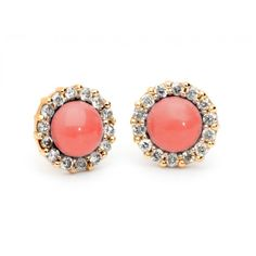 CORAL EARRINGS Designed by me for Amuletto Jewelry Atelier. 2014