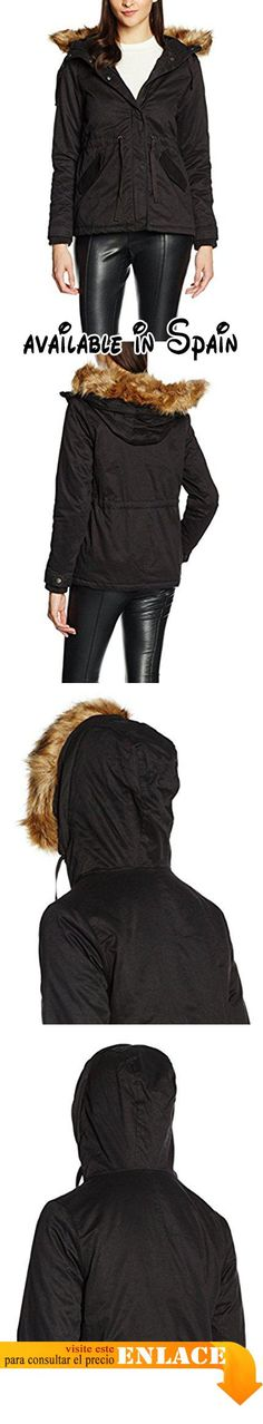 B01K22Z2NK : Cache Cache 6843001100 Impermeable Mujer Negro (Pirate Black) ES 36 (FR 36).