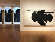 Sol Lewitt and Robert Motherwell Yale University Art Gallery