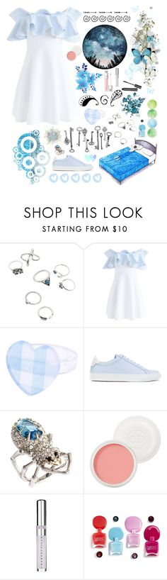 """""""Untitled #225"""" by stopcallinme ❤ liked on Polyvore featuring Chicwish, Givenchy, Alexis Bittar, Christian Dior and Chantecaille"""