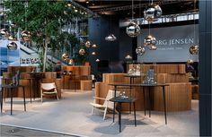 Georg Jensen udstillingsstand i Bella Center. Softblocks from molo design