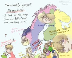 """ravenmushroom: """" They need to stop. I mean, children are watching…. **I intended to drew England as the representation of UK. Please don't get mad for not drawing all of them. (Credit: picture of the..."""