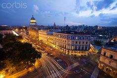 Overview of the Capitol Building. Havana. Cuba.
