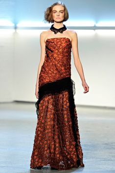 Rodarte Fall 2012 — Runway Photo Gallery — Vogue