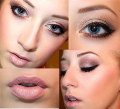 Winged Eyeliner Makeup Look