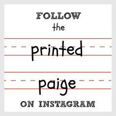The Printed Paige | Homeschool Blog