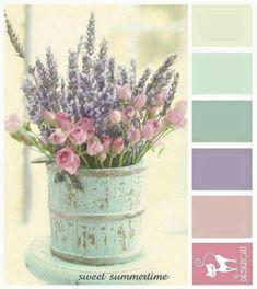 Shabby chic colors palette girl nurseries 45+ Ideas #shabbychic