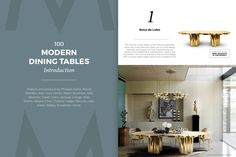 Modern Dining Tables Blog presents projects and pieces by great names like Philippe Starck, Marcel Wanders, Jean-Louis Deniot, Martin Brudnizki, Kelly Wearstler, David Collins, Jacques Grange, Peter Marino, Alberto Pinto, Christian Liaigre, Boca do Lobo, Koket, Brabbu and Essential Home. Download it and get inspired right now! ➤ Discover the season's newest designs and inspirations. Visit us at  www.moderndiningtables.net #diningtables #homedecorideas #diningroomideas @ModDiningTables