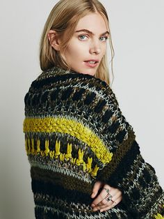 Free People Knotted & Tied Cardigan at Free People Clothing Boutique