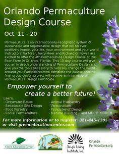 Orlando Permaculture Design Course 2013