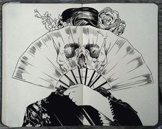 #125 Death Glare by 365-DaysOfDoodles.deviantart.com on @deviantART