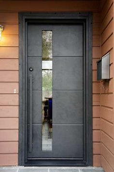 1000 images about my front door on pinterest for Puertas metalicas exterior