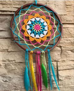 Crochet Earrings Pattern, Crochet Mandala Pattern, Crochet Beaded Bracelets, Crochet Flower Patterns, Crochet Flowers, Crochet Stitches, Crochet Doilies, Diy Sewing Projects, Crochet Projects