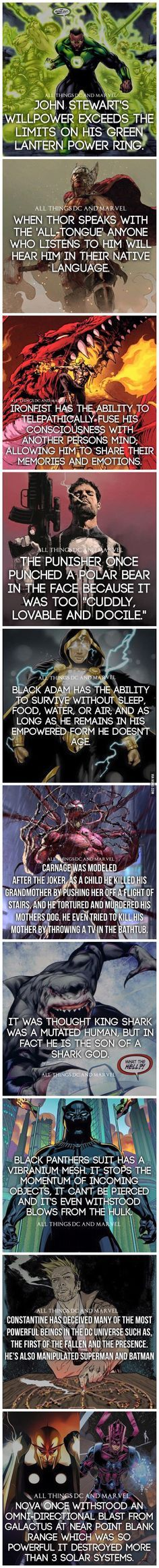 Superhero Facts: Part 5 - 9GAG