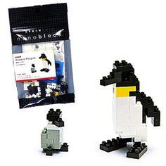 Emperor Penguin Nanoblock Miniature Building Blocks NBC 001 Rare