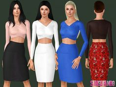 .:452 - Party dress:.  Found in TSR Category 'Sims 3 Female Clothing'