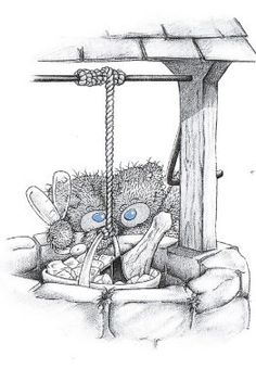 ru / Photo # 218 - Teddy in pictures - Kvitochka Tatty Teddy, Teddy Bear Pictures, Bear Images, Blue Nose Friends, Cute Images, Cute Pictures, Art D'ours, Bear Illustration, Love Bear
