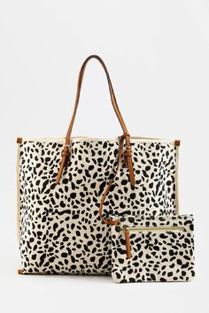Presley Animal Print Tote