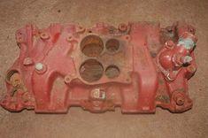 Small Block Chevy Intake Manifold 327-350 4 Barrel Hotrod Vintage Racing  #GM