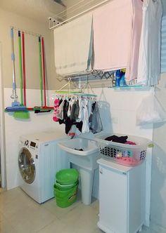 Confira no post as várias opções de varal que vão te ajudar, principalmente se você mora em um apartamento pequeno!