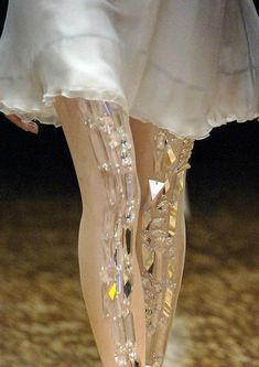 jewelled leggings @Tricia Crotwell