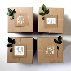 Cute Christmas Gift Wrapping Ideas