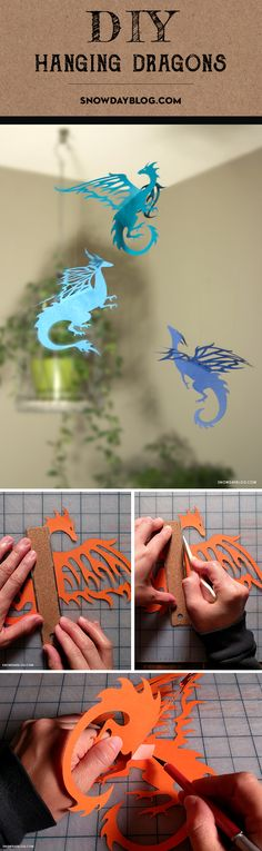Game of Thrones Inspired DIY three dragons – Julie N. Heinrichs Game of Thrones Inspired DIY three dragons Game of Thrones Inspired DIY three dragons Origami Paper, Diy Paper, Paper Crafting, Paper Art, Origami Girl, Fun Crafts, Diy And Crafts, Crafts For Kids, Arts And Crafts