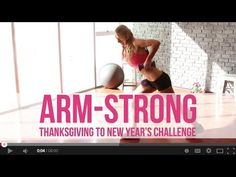 Arm-Strong (Week 3): Thanksgiving to New Year Workout Challenge - YouTube