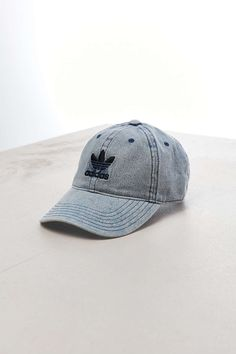 5b86477a61b adidas Relaxed Denim Baseball Hat