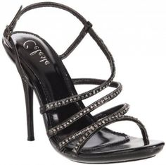 £34.99  Shoehorne Hana-13 - Womens Black Rhinestone Encrusted Diamante Covered Slingback Strap Stiletto High Heels Evening Sandals - Avail in Ladies Shoe Size 3-8 UK: Amazon.co.uk: Shoes & Accessories