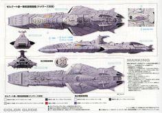 Starship Modeler Store: 1/1000 Domelaze The 3rd (Yamato:2199)