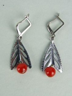 Earrings by Jakob Bengel